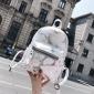 双肩包女2018新款韩版大理石纹印花百搭时尚休闲女士小背包潮